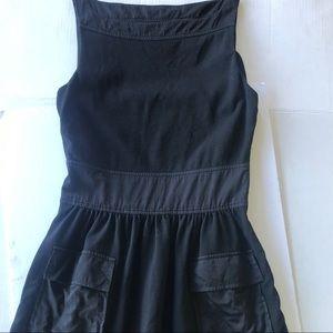 Diane Von Furstenberg Little Black Dress Size 8